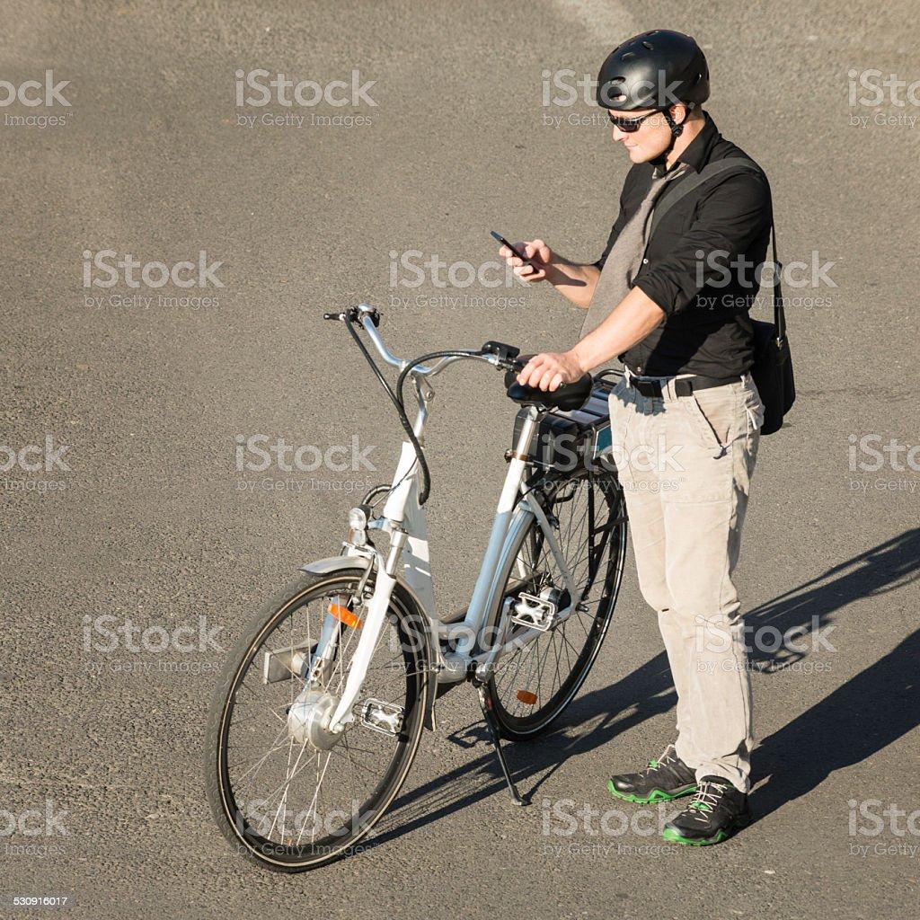 Modern City Commuter stock photo
