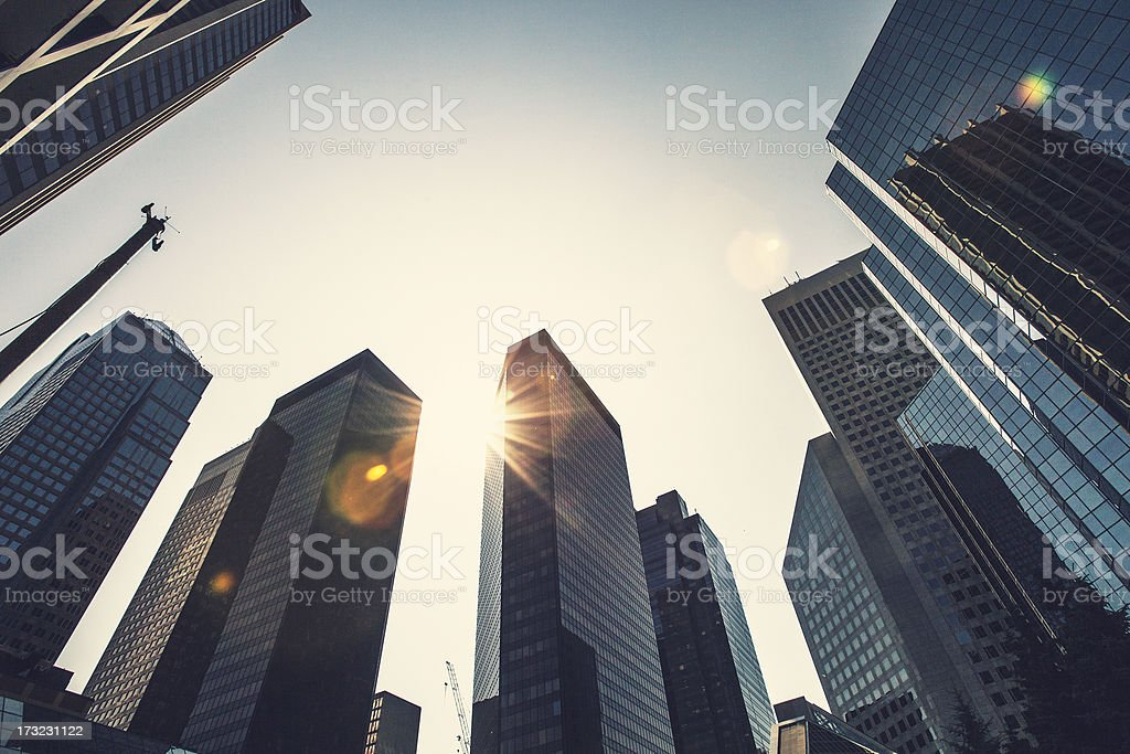Modern city. royalty-free stock photo
