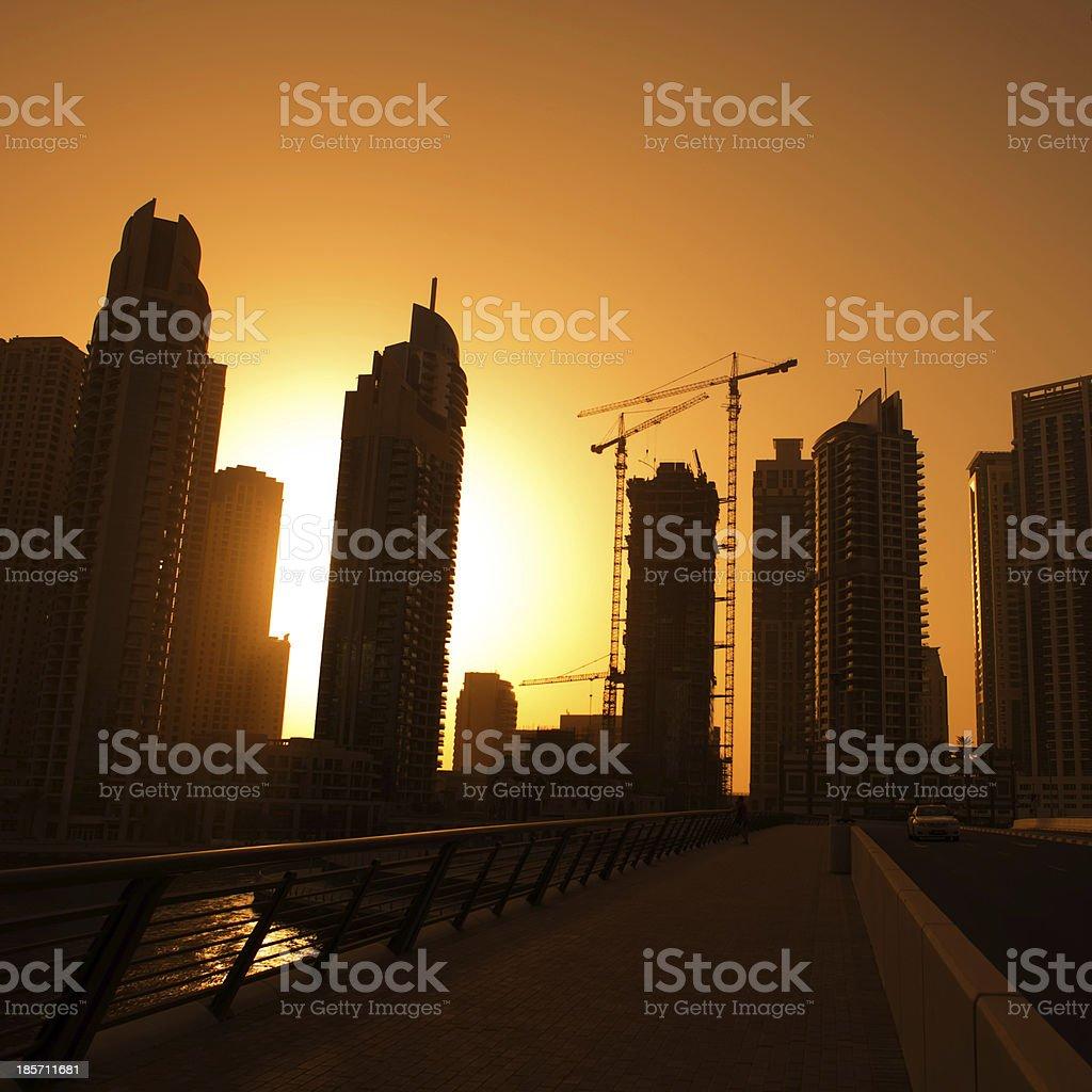 modern city royalty-free stock photo