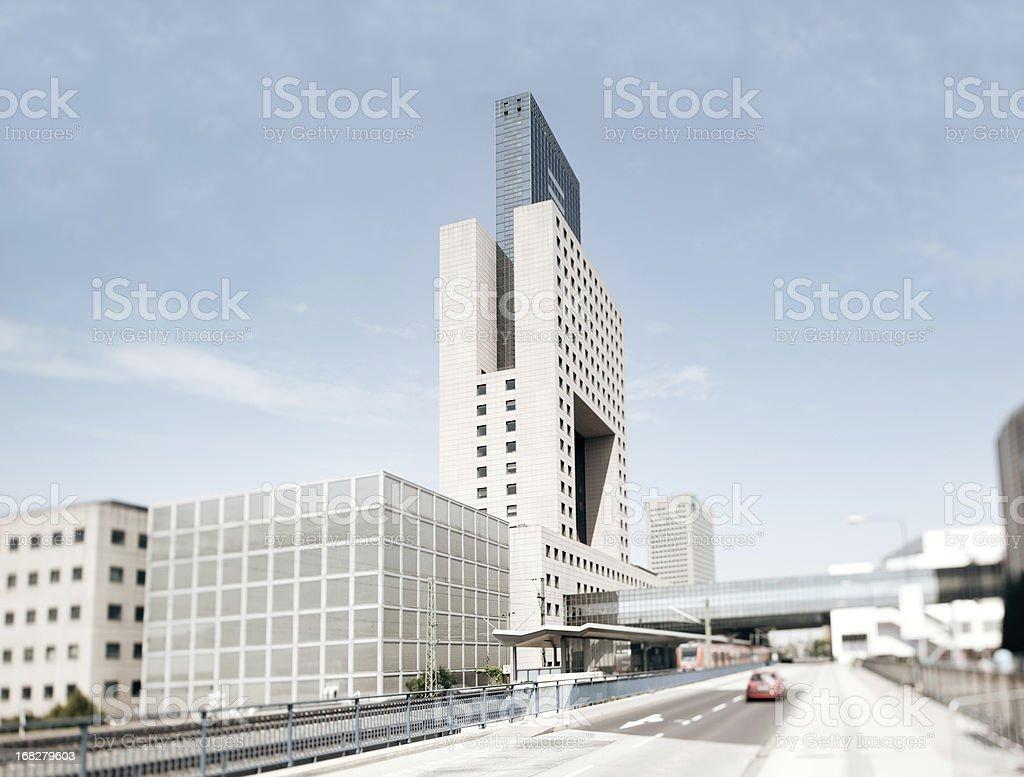 Modern City Station royalty-free stock photo