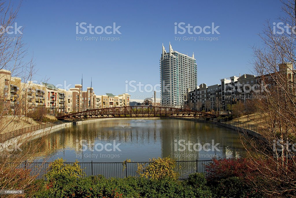 Modern City Village royalty-free stock photo