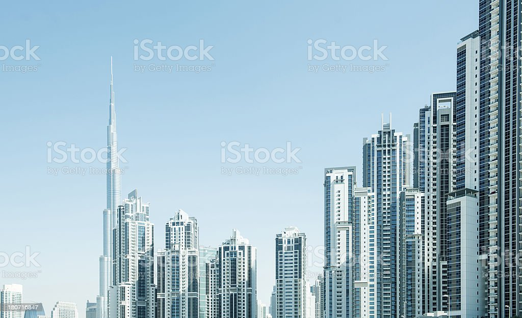Modern Cityscape of Apartments royalty-free stock photo