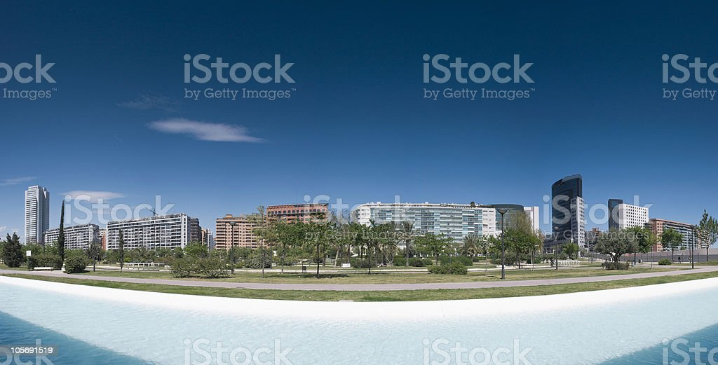 Modern cityscpae stock photo