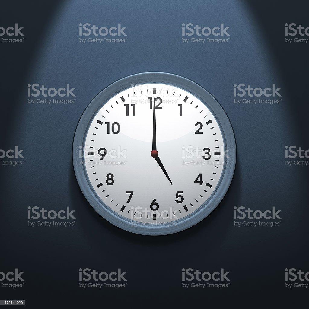 Modern Clock royalty-free stock photo
