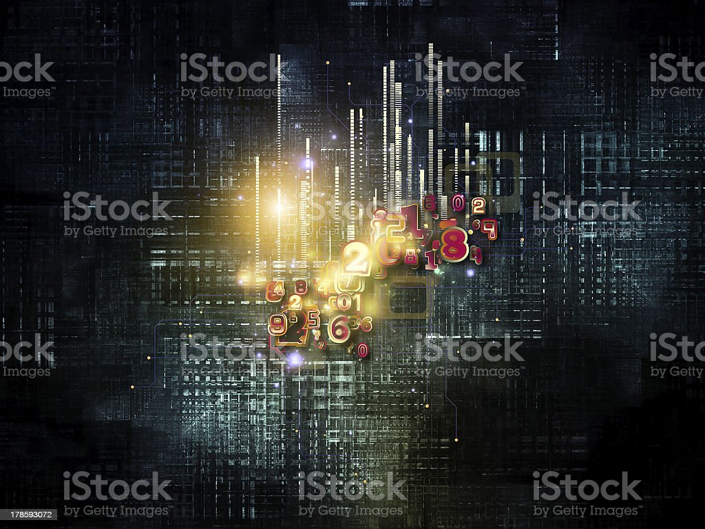 Modern Cloud Technology royalty-free stock photo