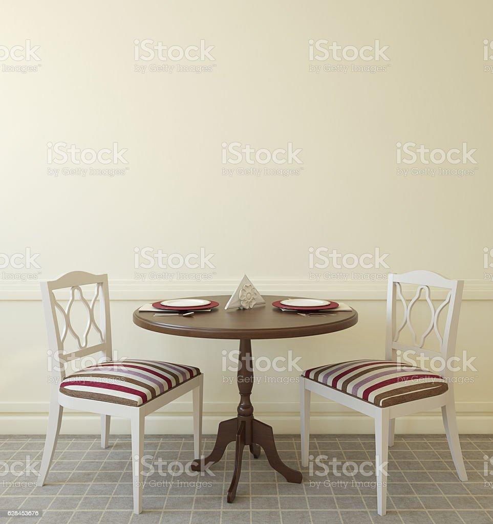 Modern coffee house. 3d render. stock photo