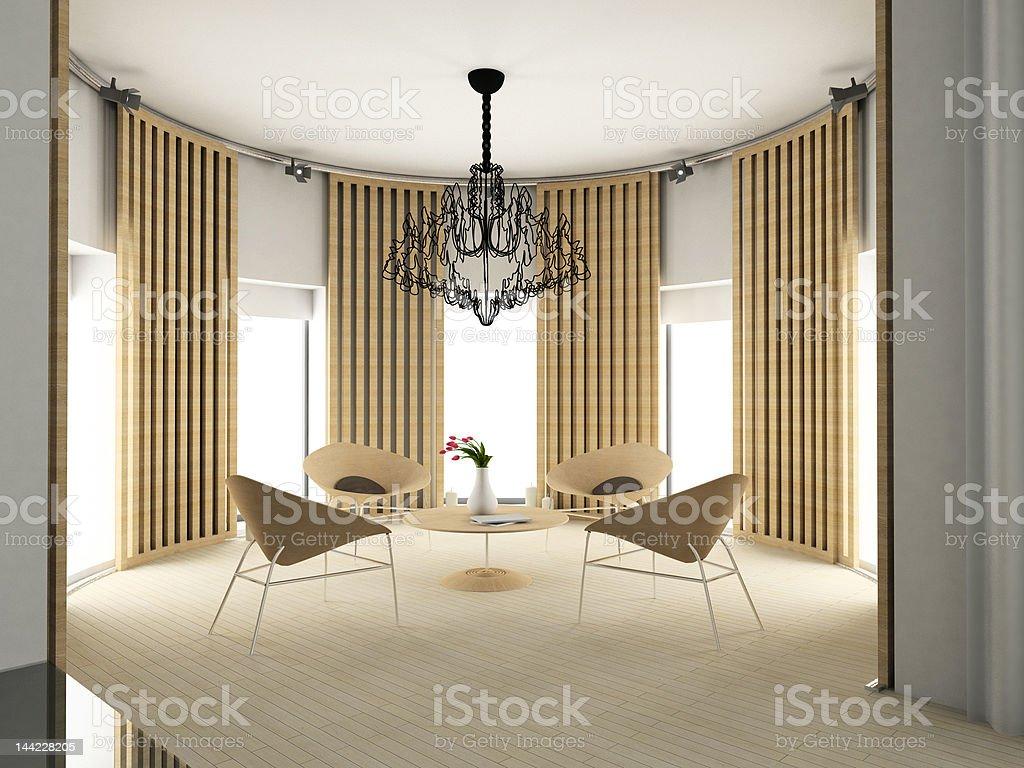 modern comfortable interior royalty-free stock photo