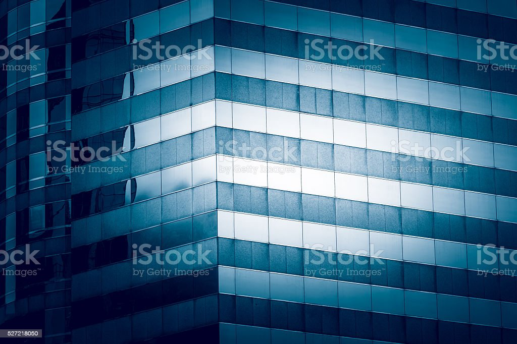 Modern commercial building close up stock photo