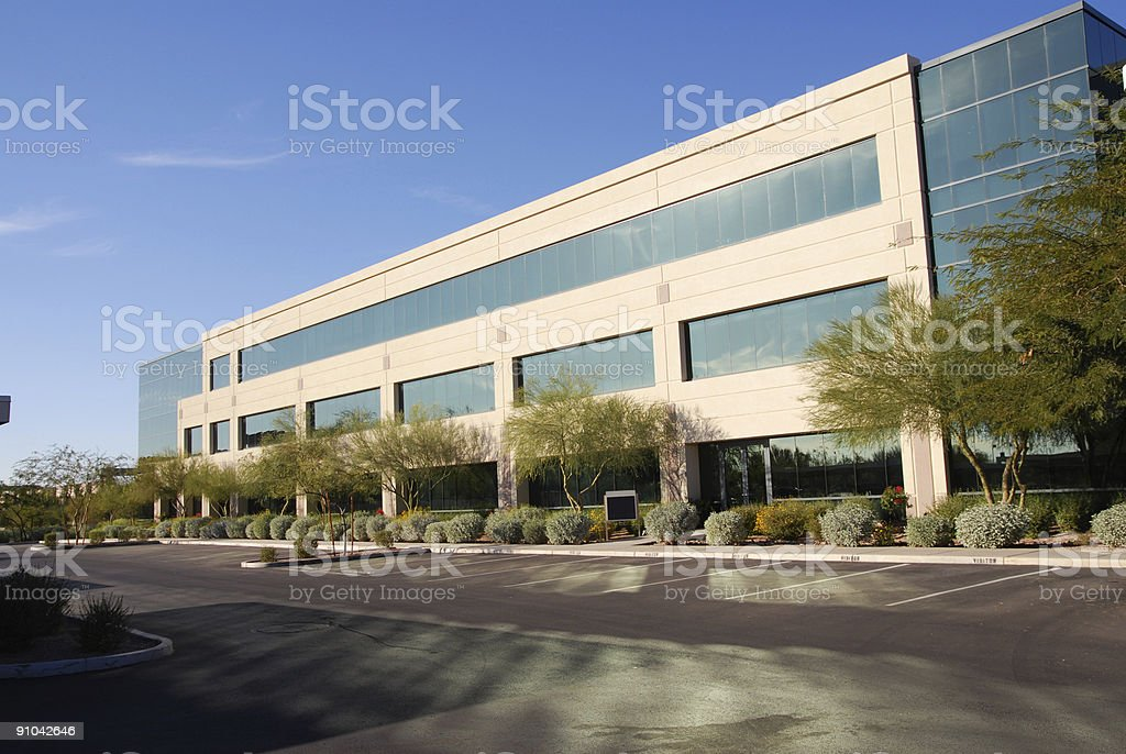 Modern Commercial Building royalty-free stock photo