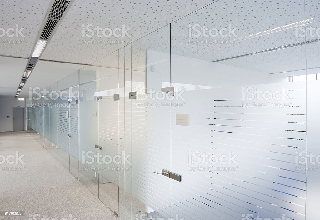 Modern company offices stock photo