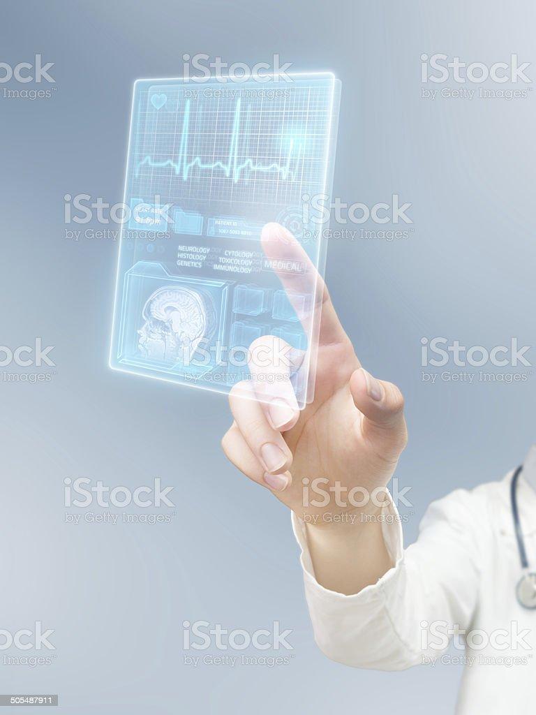Modern complex healthcare stock photo