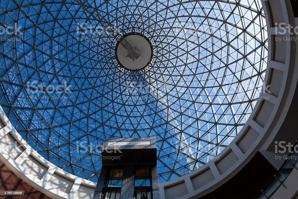 Modern Complicated Architecture on Pandora shopping mall ,Ankara Turkey stock photo
