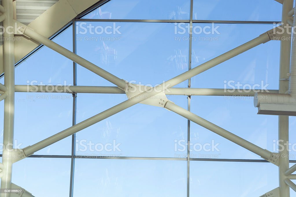 Modern Complicated Architecture stock photo