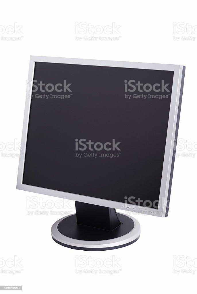 Modern Computer Monitor stock photo