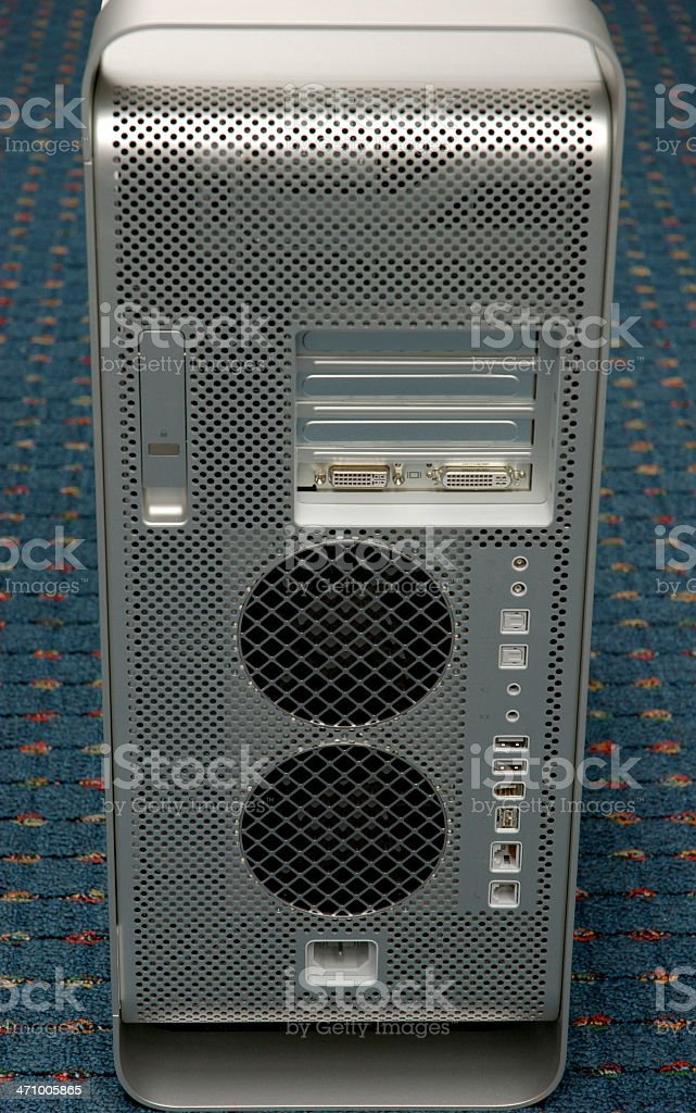 Modern computer royalty-free stock photo