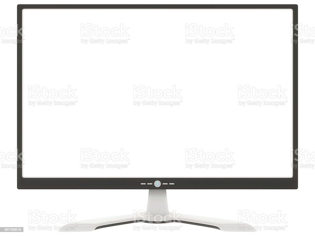 modern computer screen royalty-free stock photo