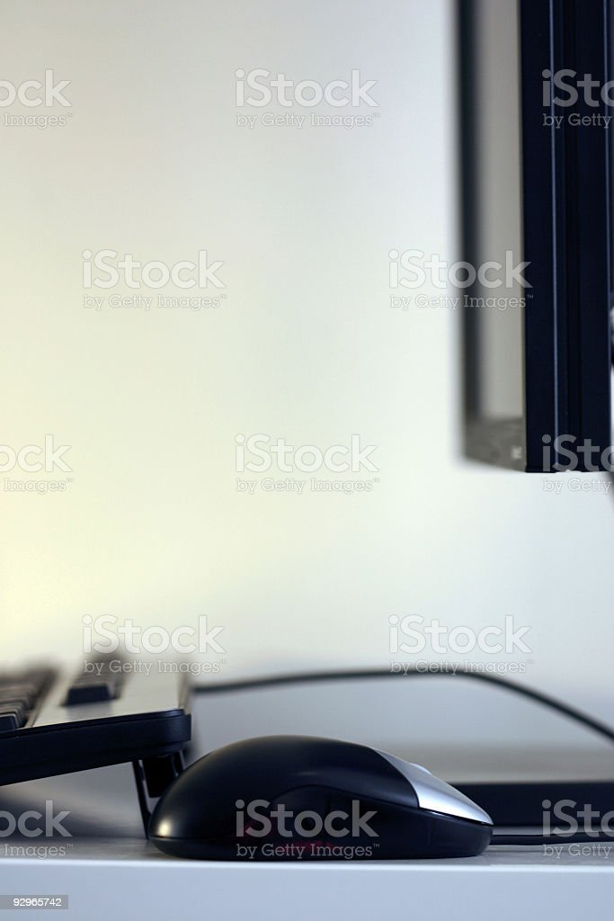 modern computer system royalty-free stock photo