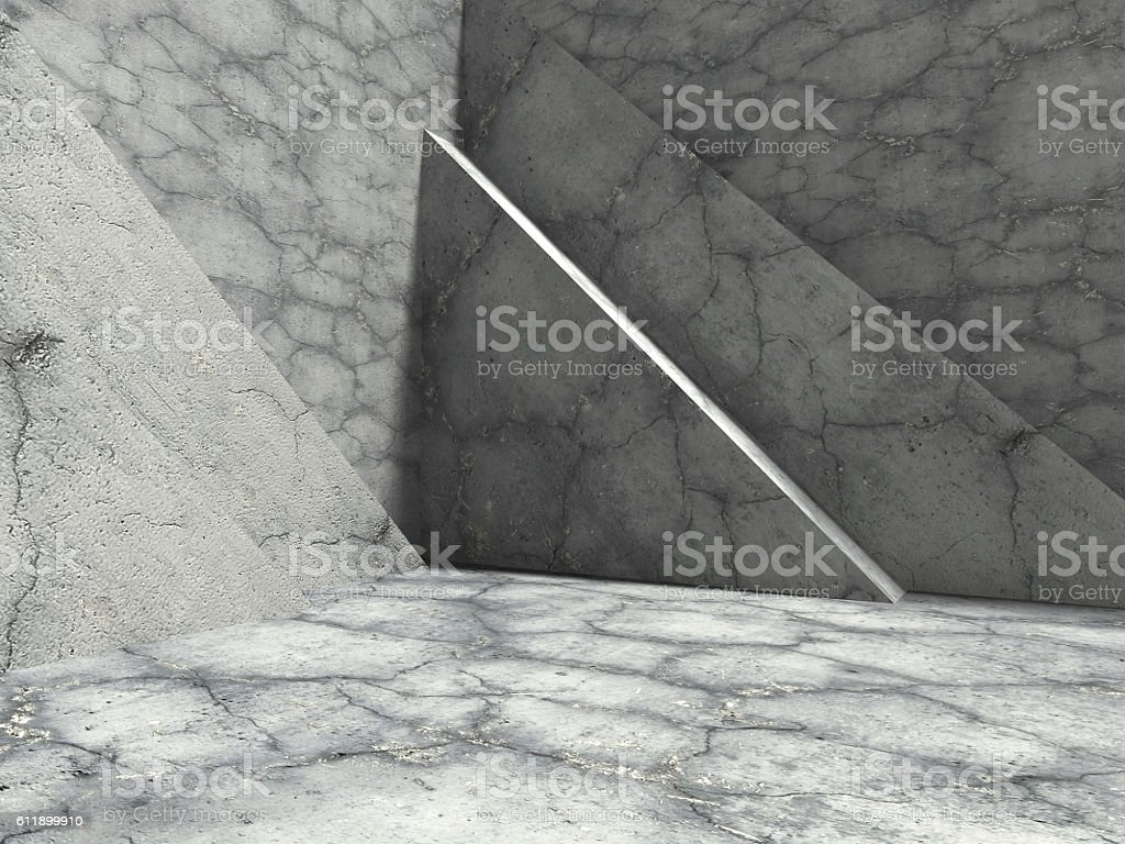 Modern concrete architecture abstract background stock photo