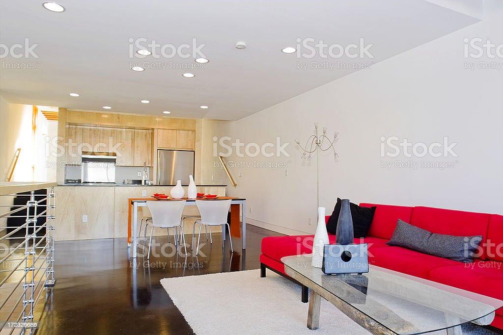 Modern Condo royalty-free stock photo