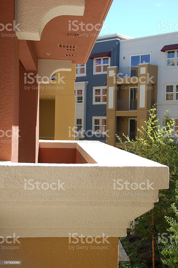 Modern Condominium Living royalty-free stock photo