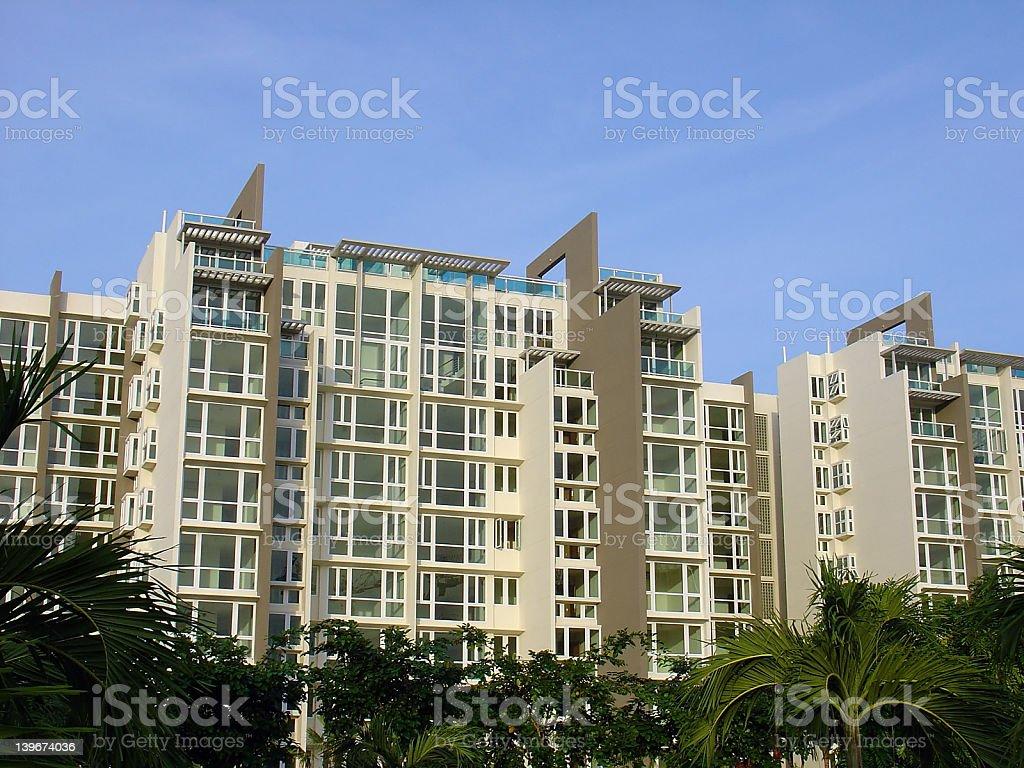 Modern Condominium royalty-free stock photo