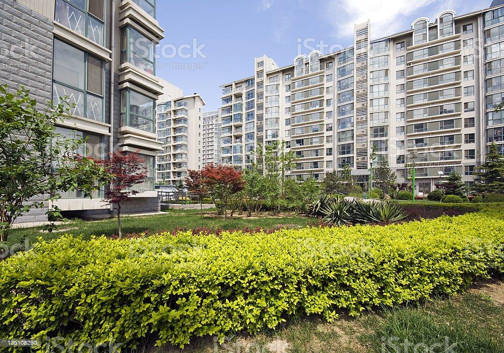 Modern Condominium Towers royalty-free stock photo