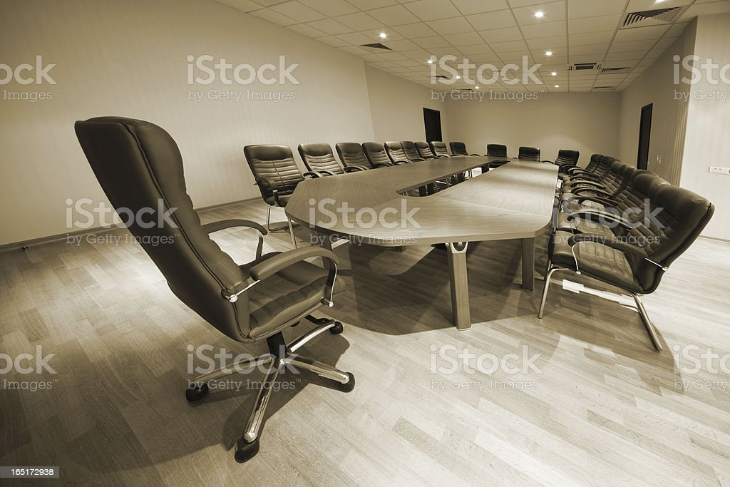 modern conference room royalty-free stock photo