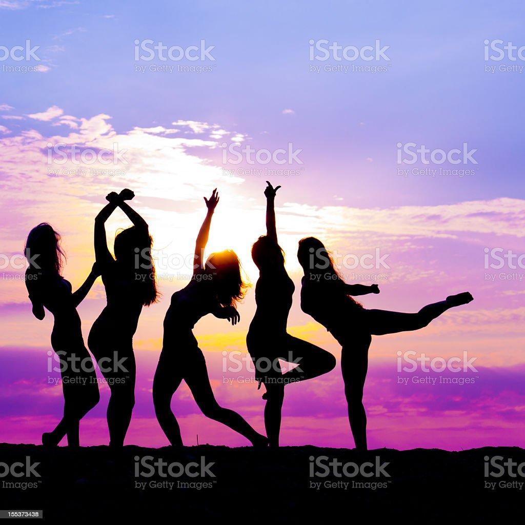 modern contemporary dance stock photo