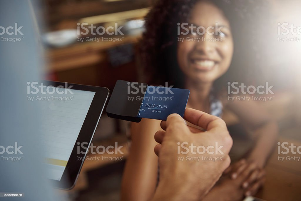 Modern convenience making life easier stock photo