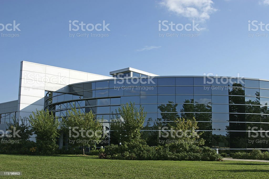 Modern Corporate Building Exterior royalty-free stock photo