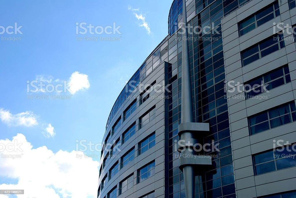 Modern corporate office building royalty-free stock photo