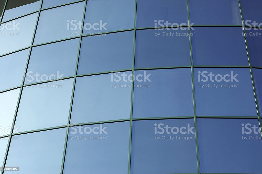 Modern Corporative building, detailed royalty-free stock photo