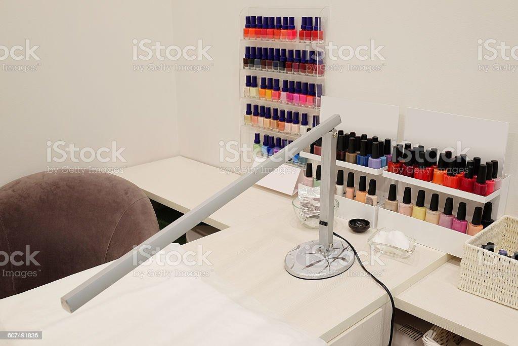 modern cosmetology office stock photo