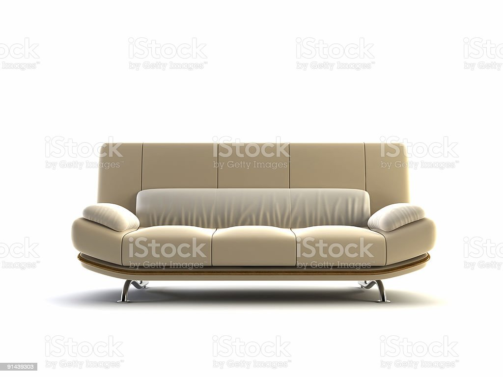 modern couch royalty-free stock vector art
