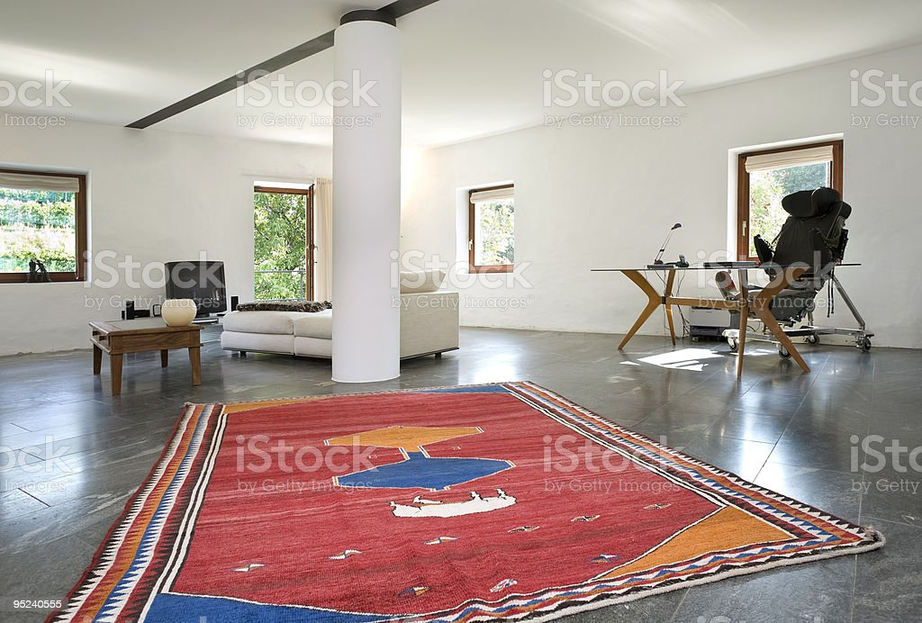 modern country house royalty-free stock photo