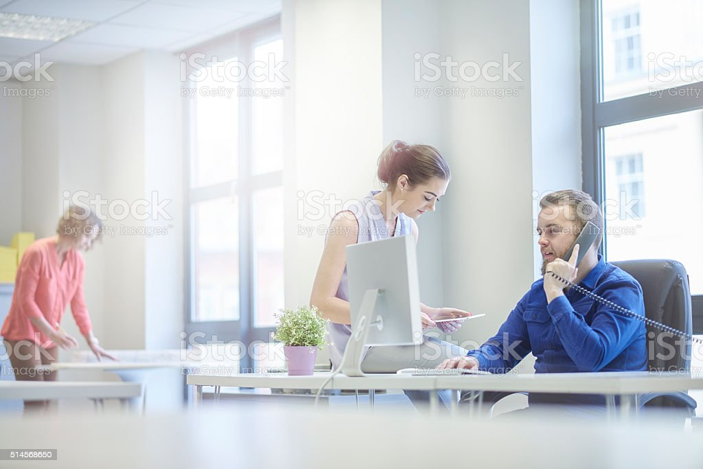 modern creative office team stock photo