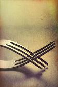 modern cutlery fork