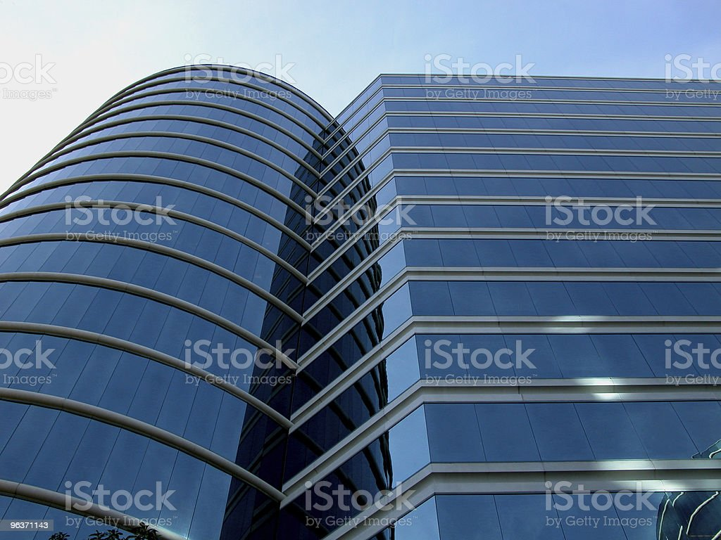 Modern Cylindrical Office Building royalty-free stock photo