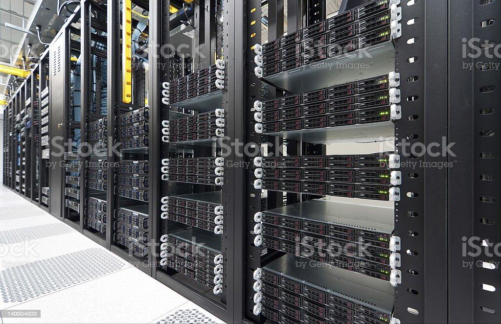 Modern Datacenter royalty-free stock photo