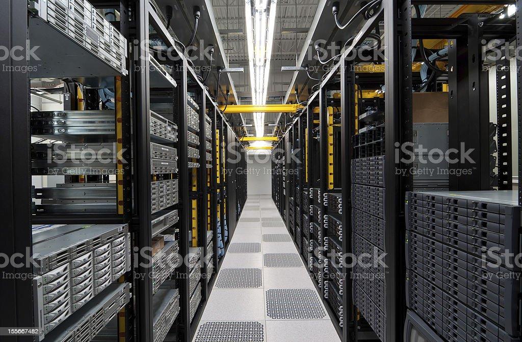 Modern Datacenter stock photo