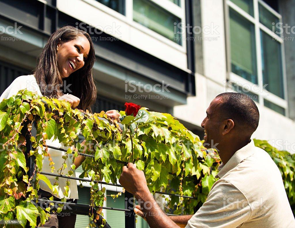 Modern Day Romeo stock photo