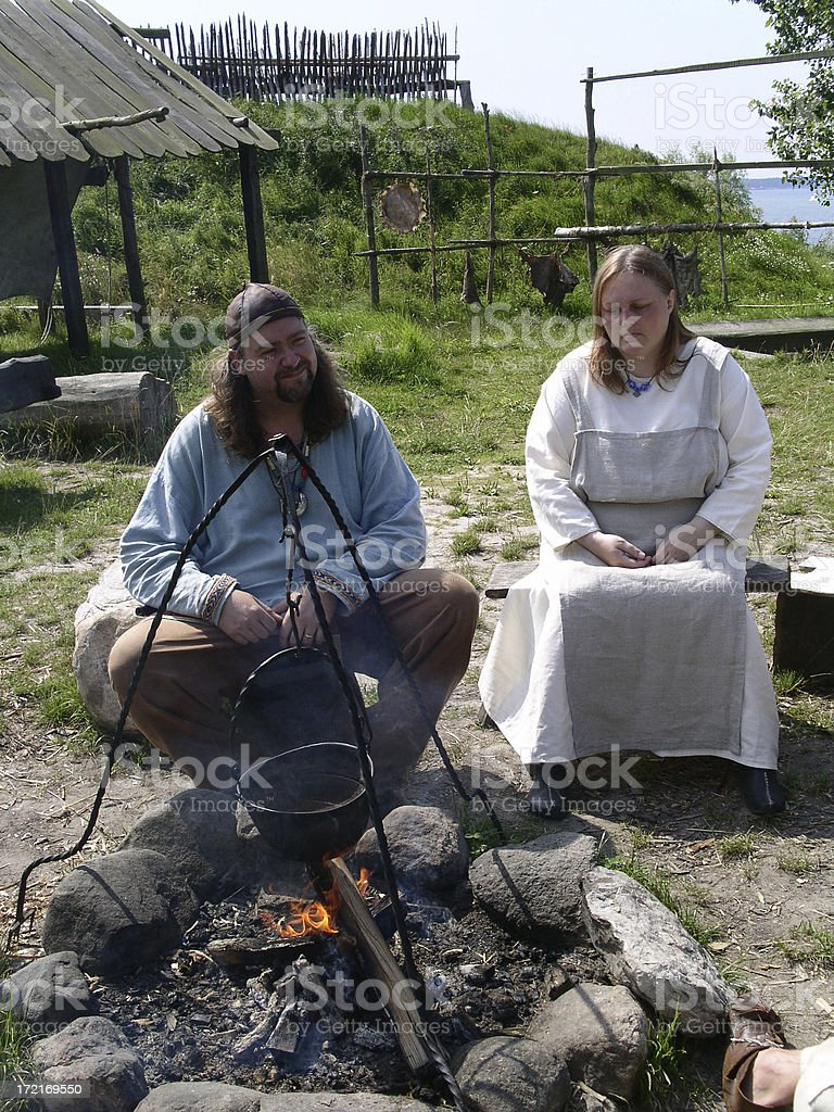Modern Day Vikings royalty-free stock photo