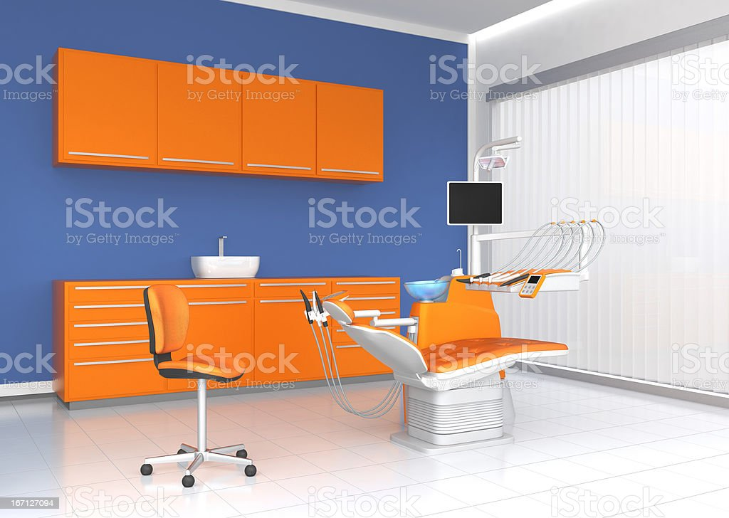 modern dental clinic office royalty-free stock photo