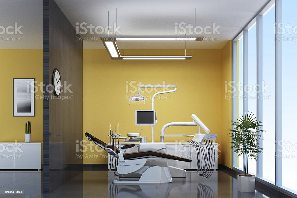 Modern Dental Office stock photo