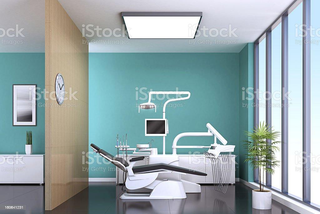 Modern Dentist Office stock photo