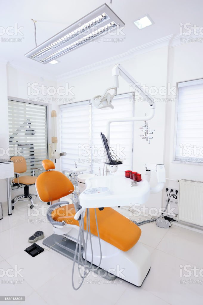 Modern dentist office royalty-free stock photo