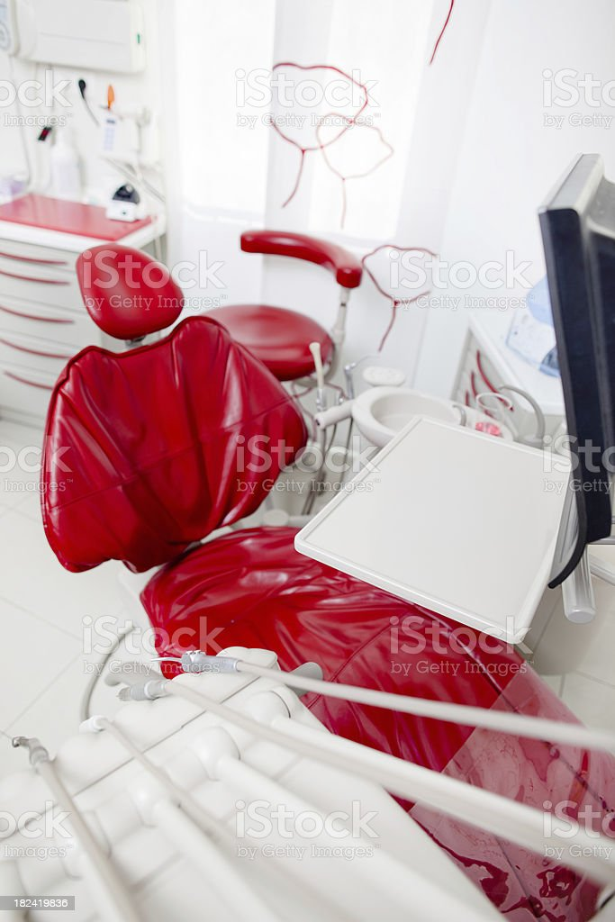Modern dentist's office royalty-free stock photo