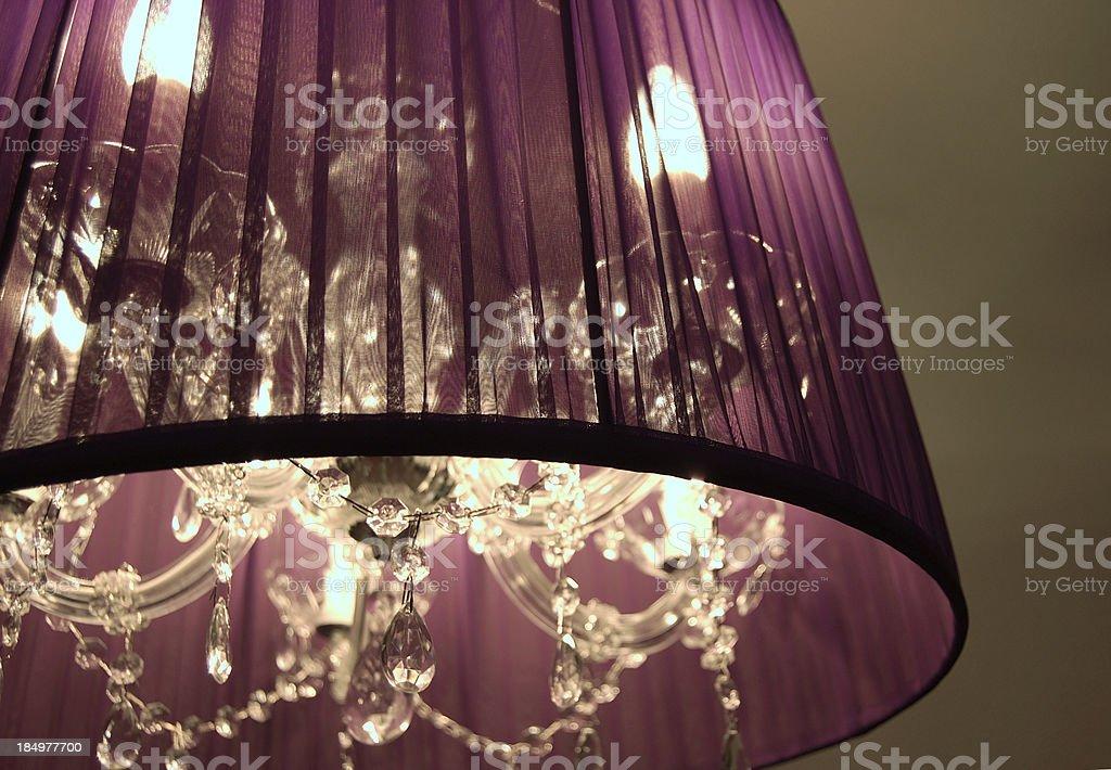 modern design chandelier stock photo