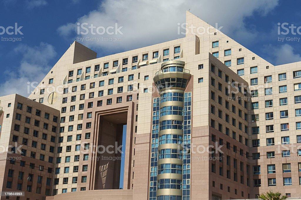Modern design luxurious  apartments condominium hotel royalty-free stock photo