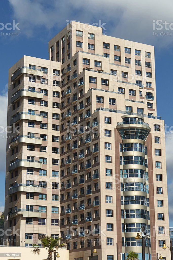 Modern design luxurious  apartments condominium hotel royalty-free stock photo